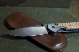 a knife and sheath