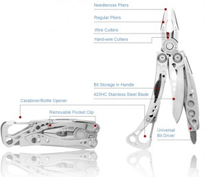 Multi tool review: the Leatherman Skeletool
